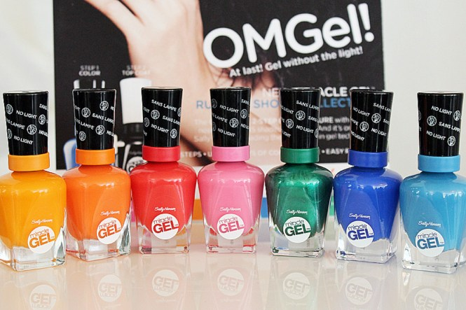 Sally Hansen Miracle Gel Flawless S Color Collection