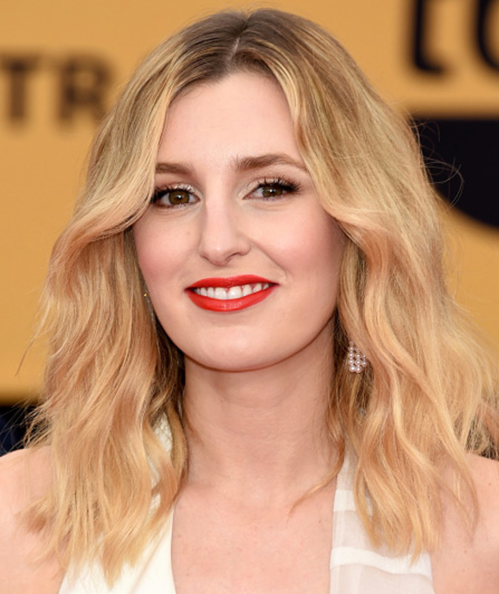 LAURA CARMICHAEL SAG AWARDS 2015 MAKEUP AND HAIR Beautygeeks
