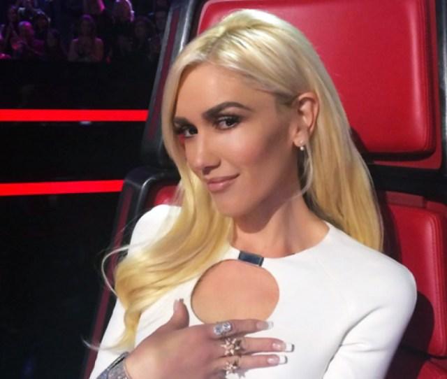Gwen Stefani Nude Lips On The Voice Love