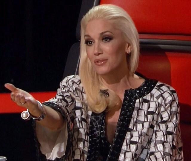 Fave Gwen Stefani Makeup Look On The Voice Season