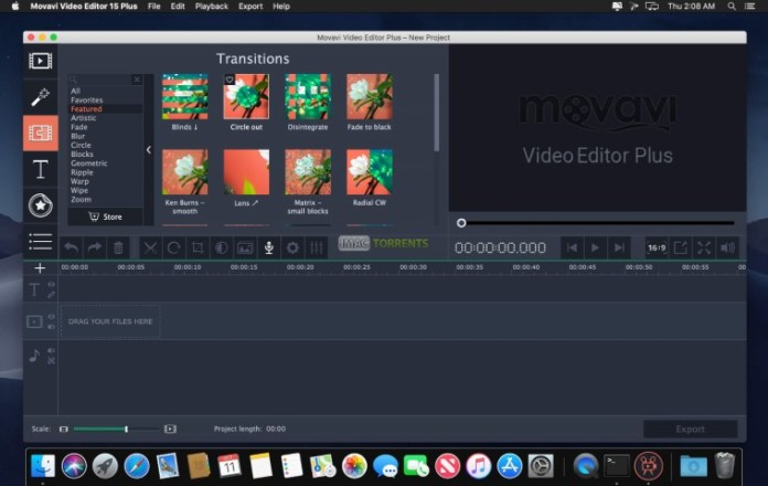 Download Movavi Video Editor 15 Plus Crack For Mac