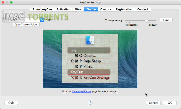Download KeyCue 9.4 Mac OSX Torrent
