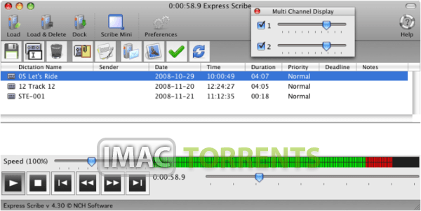 NCH Express Dictate 8.02 macOS Torrent