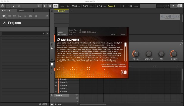 Native Instruments Maschine 2 Full macOS