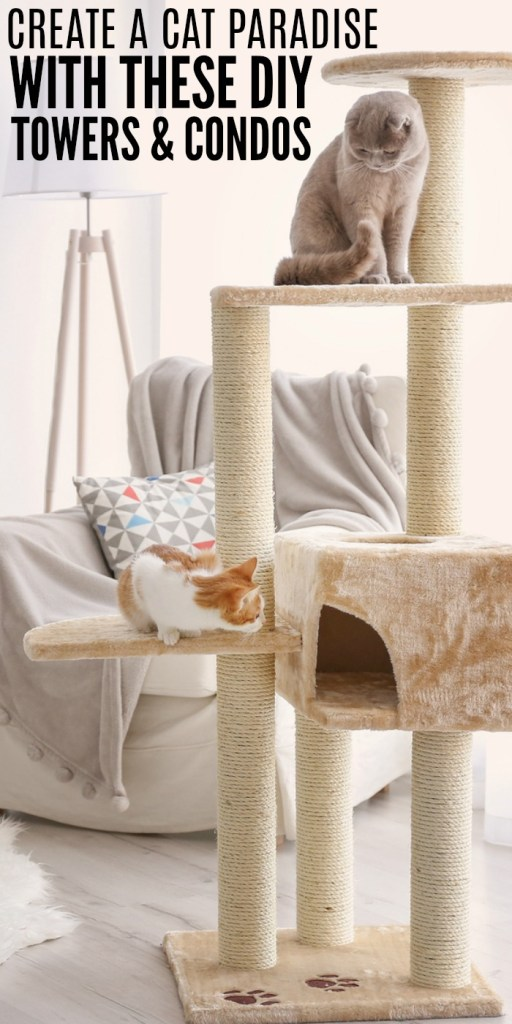 DIY Cat Towers and Condos