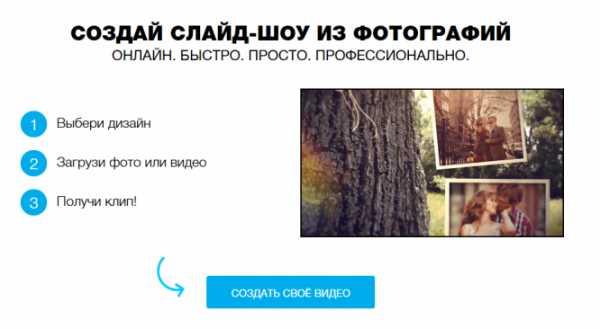 Как сделать слайд шоу с фото и видео. Сделайте видео слайд ...