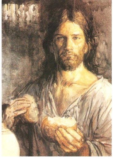 jesus alimenta