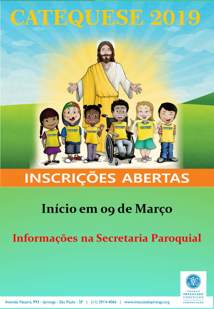 catequese 2019