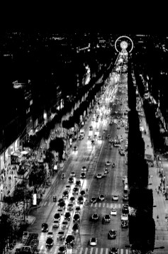 From the Arc de Triomphe 2016
