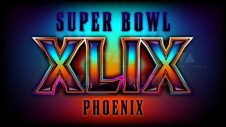 alternate 2015 Super Bowl 49 Arizona logo design: southwest sunset