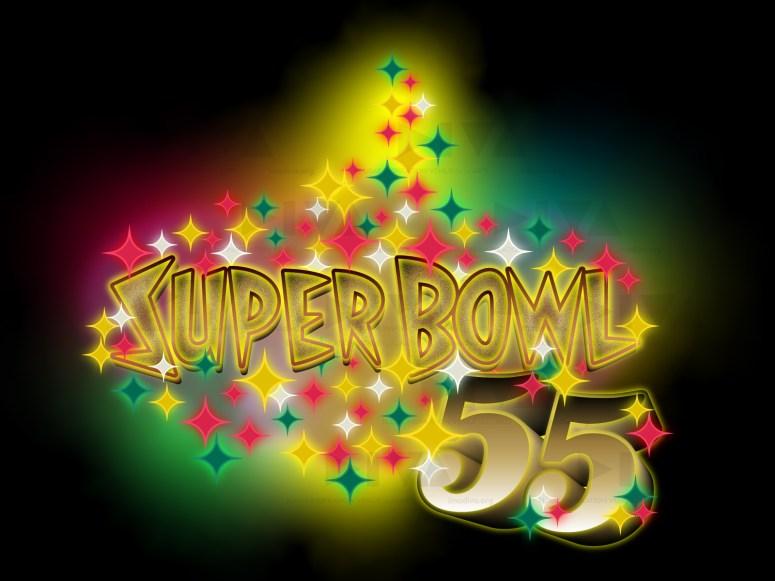 alternate 2021 Super Bowl 55 Las Vegas logo design: Stardust