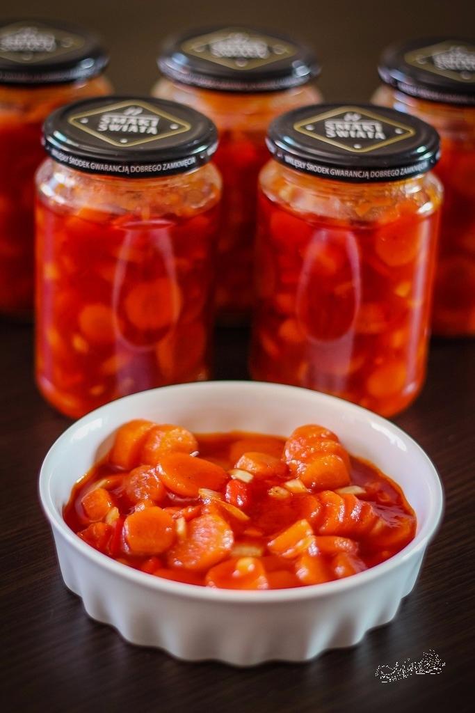 Marchewka w sosie słodko-kwaśnym
