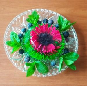 Galaretka kwiat 3D