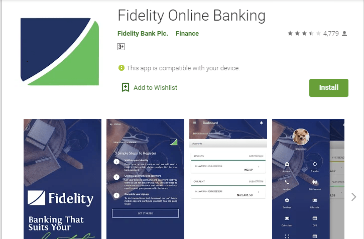 How To Download Fidelity Bank Mobile App