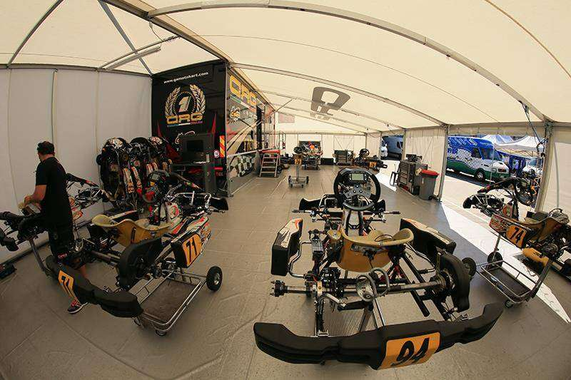 team Gamoto seats for go kart 42