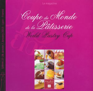 Magazine Coupe du Monde Pâtisserie