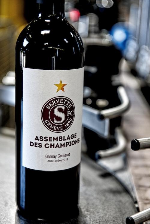 Cuvé des Champions Bernard Bosseau