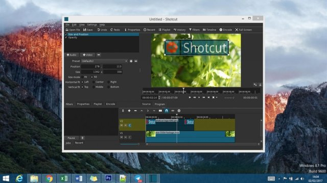 Edición de vídeo en Windows con Shotcut