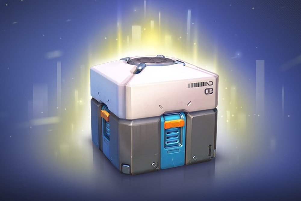 Loot Box de Fortnite con objetos sorpresa