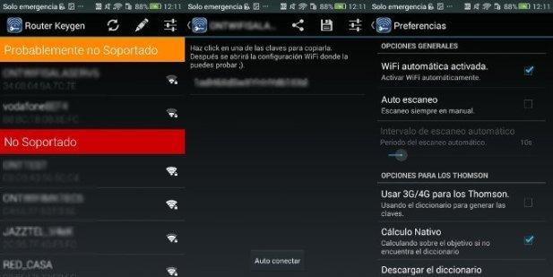 Router Keygen: escanea redes cercanas y accede a sus contraseñas wifi