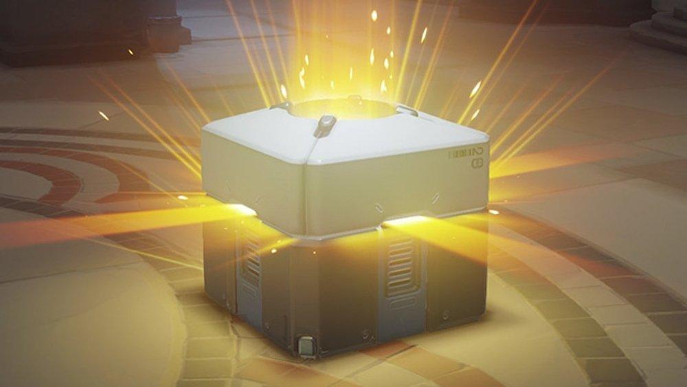 Una Loot Box de Overwatch