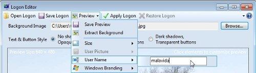 Logon Editor4