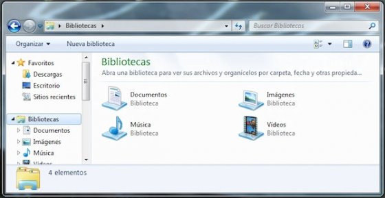 Grupo Hogar en Windows 7 2