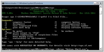 UPX 3.95 - Download for PC Free