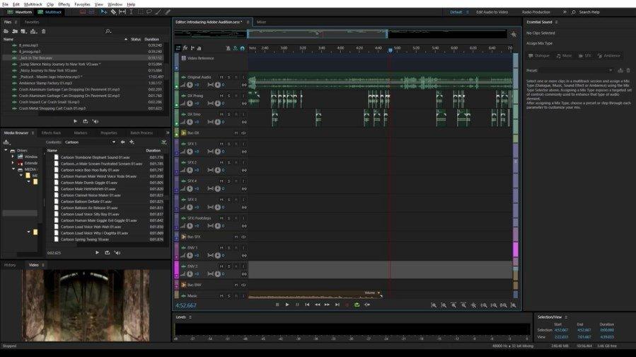 Adobe Audition CC 2019 121 Descargar Para PC Gratis