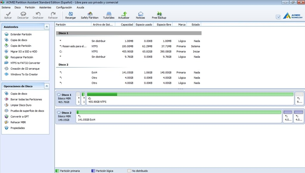 AOMEI Partition Assistant 2020 Crack + License Key Free Download{New}