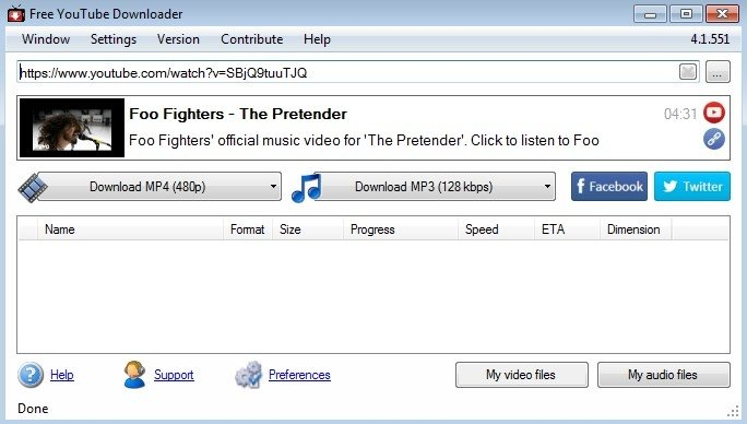 Free YouTube Downloader 4.6.1087 - Download for PC Free