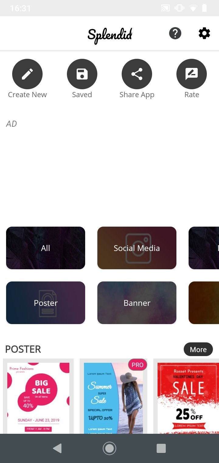 poster maker 3 6 download fur android