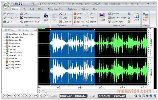 Resultado de imagen de sound editor