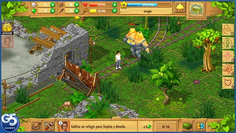 Download The Island Castaway 1600 For PC Free