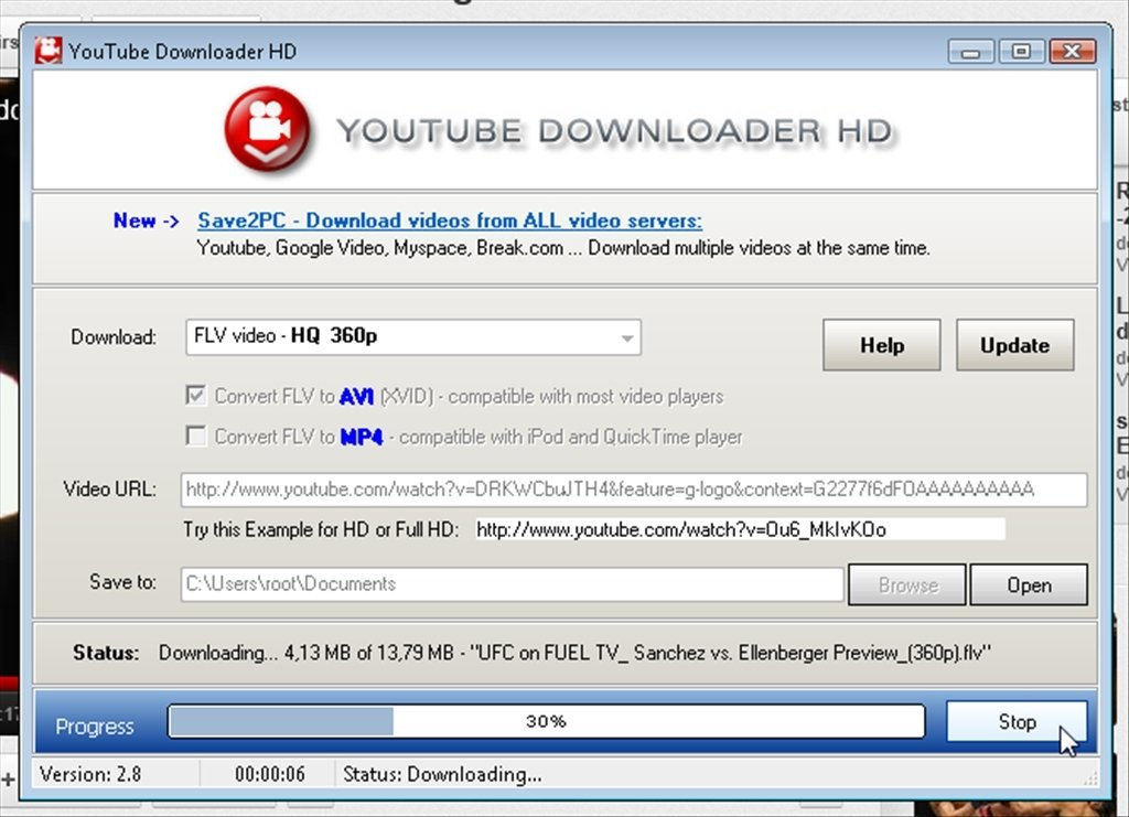 YouTube Downloader HD 2.9.9.72 - Download for PC Free