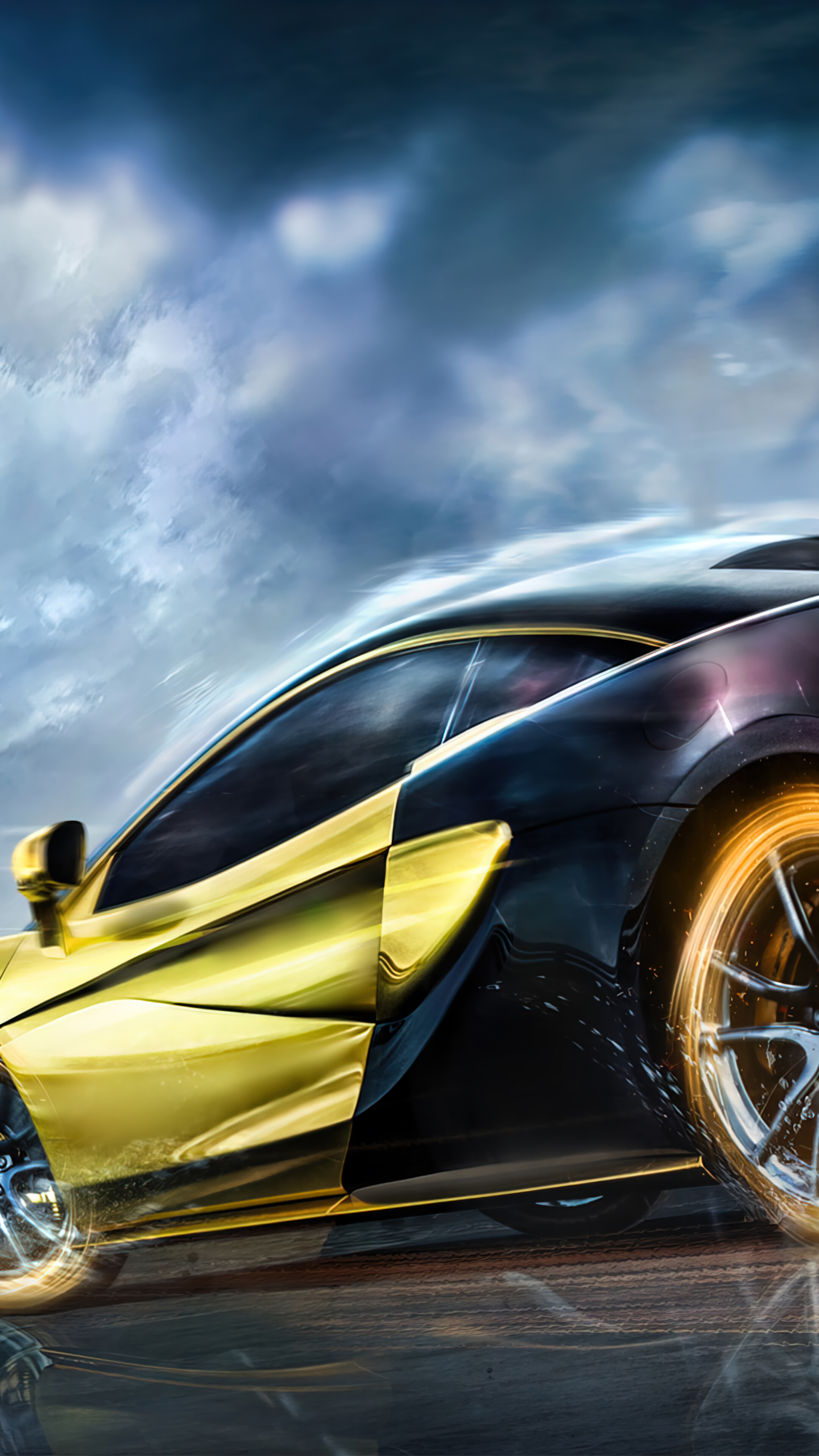 Choose from hundreds of free mustang wallpapers. Pubg Mobile Gold Mclaren Sports Car Wallpaper 4k Pc Desktop 7670a