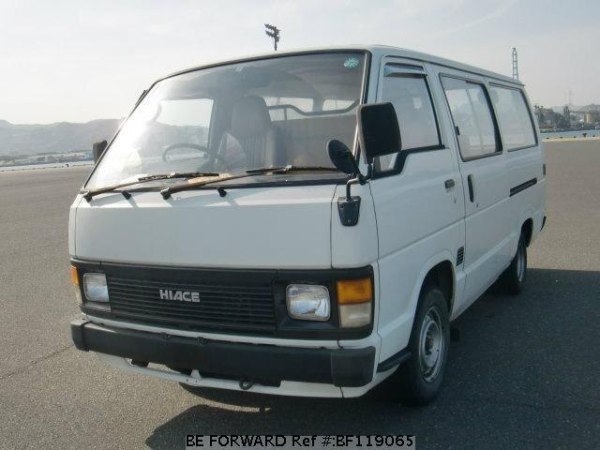 Used 1989 TOYOTA HIACE VANMYH61V for Sale BF119065 BE