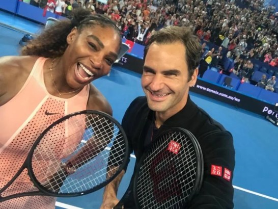 """That Was Confidential"""" - Serena Williams Responds to Roger Federer ..."""