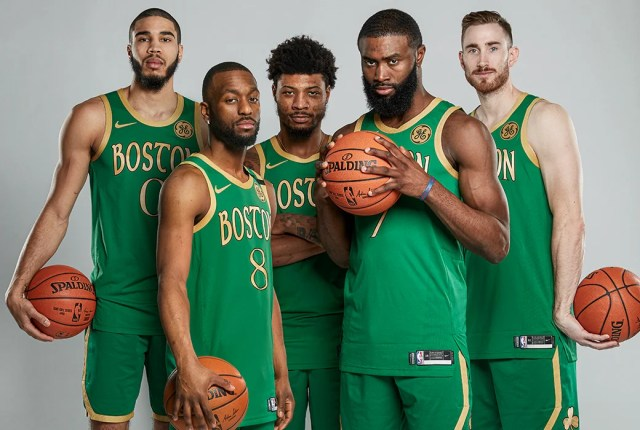 "Best Starting Five in the NBA"" Paul Pierce Declares Boston Celtics ..."
