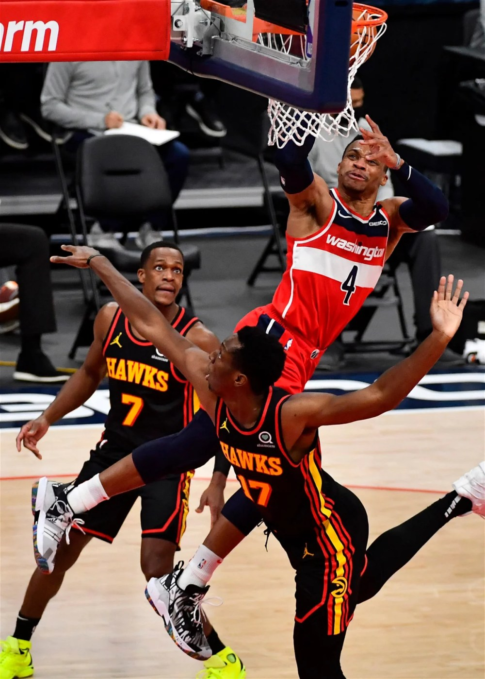 Not My Character': Wizards' Russell Westbrook Disagrees With Ejection After  Tussle with Rajon Rondo - EssentiallySports