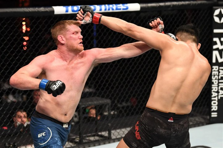 You'll be pleased to hear that Smilin' Sam Alvey failed to make the cut for MAFB this weekend   MAFB: UFC on ESPN 30