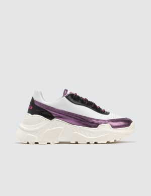 Joshua Sanders Irene Is Purple Sneakers