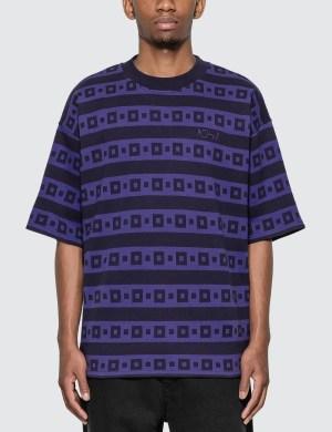 Polar Skate Co. Square Stripe Surf T-Shirt