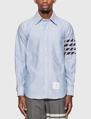 Thom Browne 4-Bar Oxford Shirt