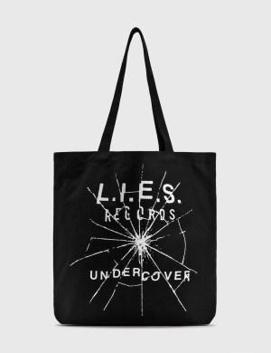 Undercover L.I.E.S Records Tote Bag