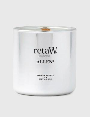Retaw ALLEN* Metallic Silver Fragrance Candle