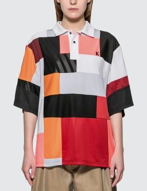 KOCH Color Block Polo