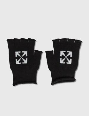Off-White Arrow Fingerless Gloves