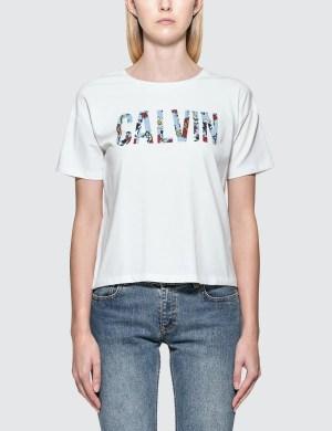 Calvin Klein Jeans Tecara Floral S/S T-Shirt