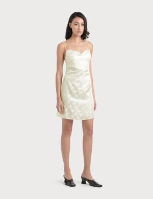 Kirin Holographic Logo Dress